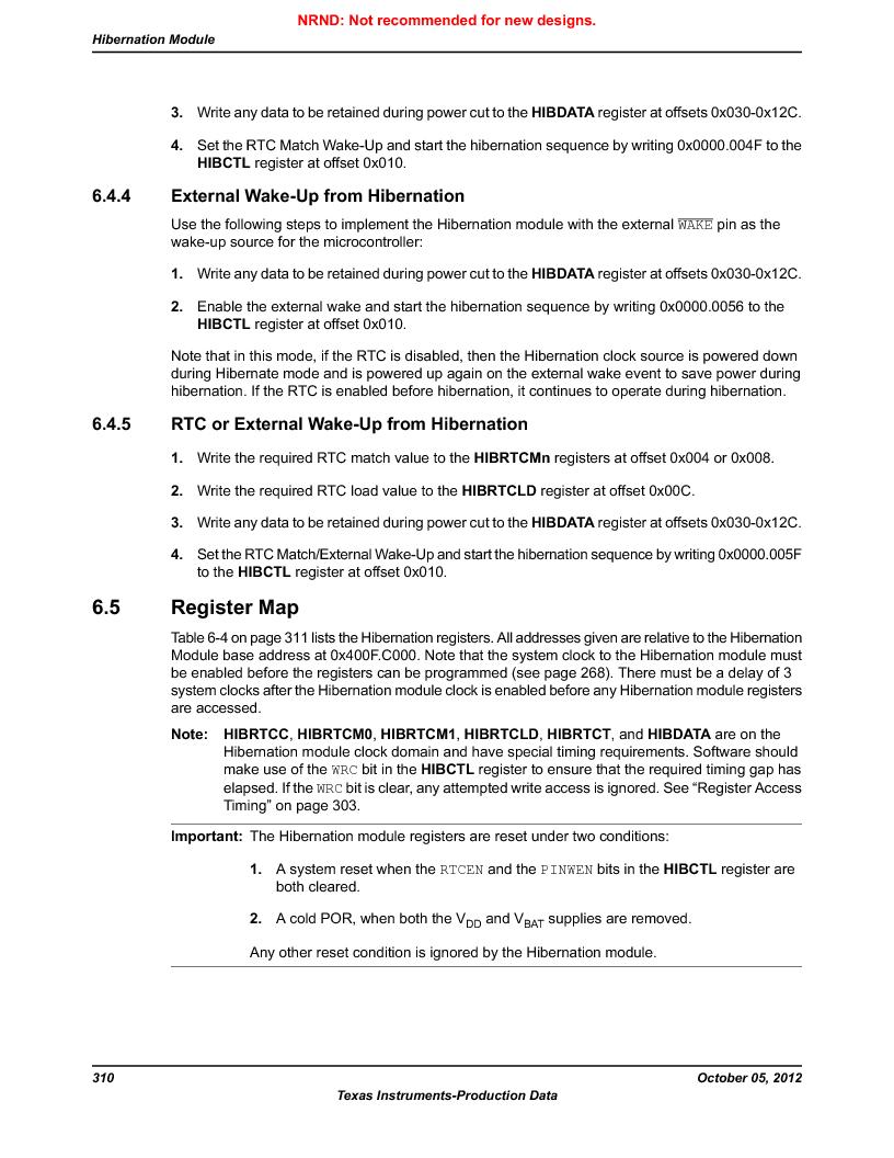 LM3S9790-IQC80-C5T ,Texas Instruments厂商,Stellaris LM3S Microcontroller 100-LQFP -40 to 85, LM3S9790-IQC80-C5T datasheet预览  第310页