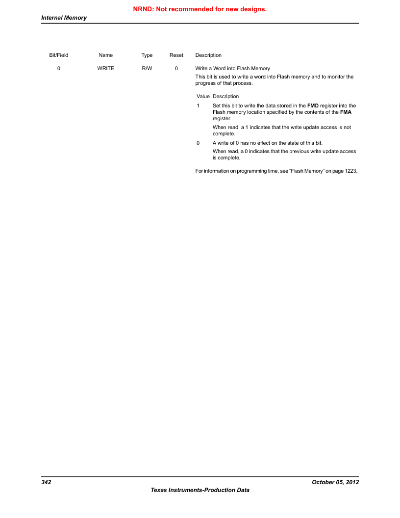 LM3S9790-IQC80-C5T ,Texas Instruments厂商,Stellaris LM3S Microcontroller 100-LQFP -40 to 85, LM3S9790-IQC80-C5T datasheet预览  第342页