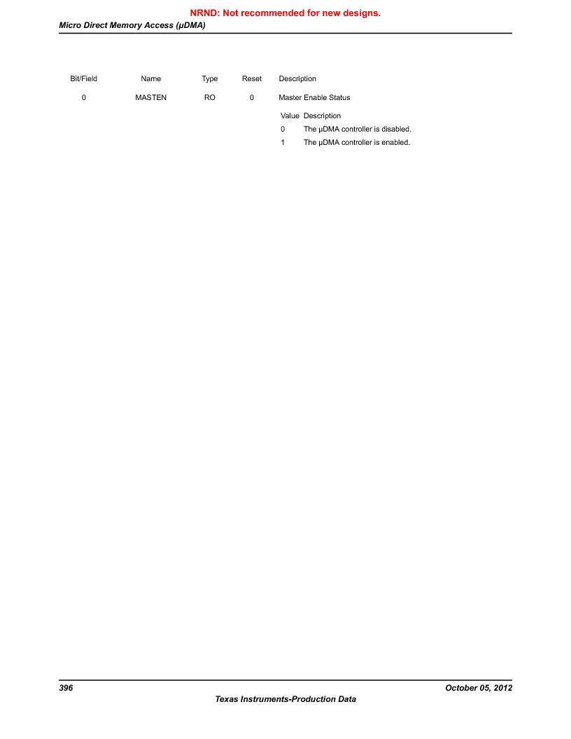 LM3S9790-IQC80-C5T ,Texas Instruments厂商,Stellaris LM3S Microcontroller 100-LQFP -40 to 85, LM3S9790-IQC80-C5T datasheet预览  第396页