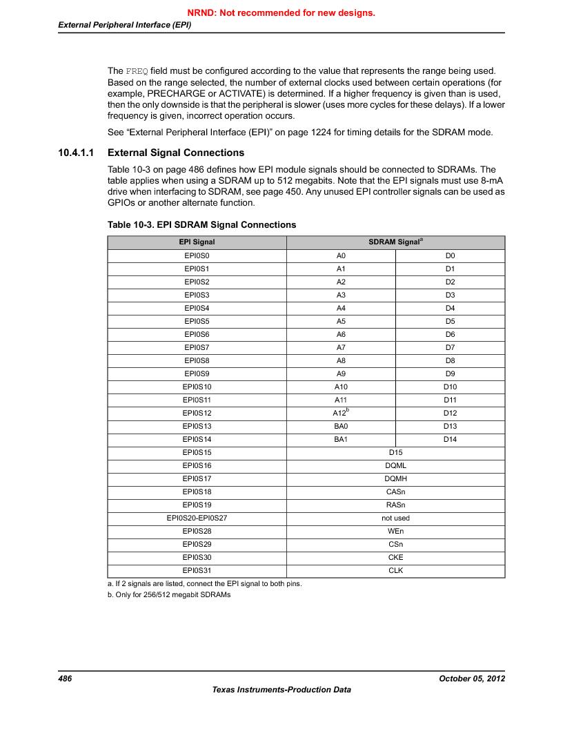 LM3S9790-IQC80-C5T ,Texas Instruments厂商,Stellaris LM3S Microcontroller 100-LQFP -40 to 85, LM3S9790-IQC80-C5T datasheet预览  第486页