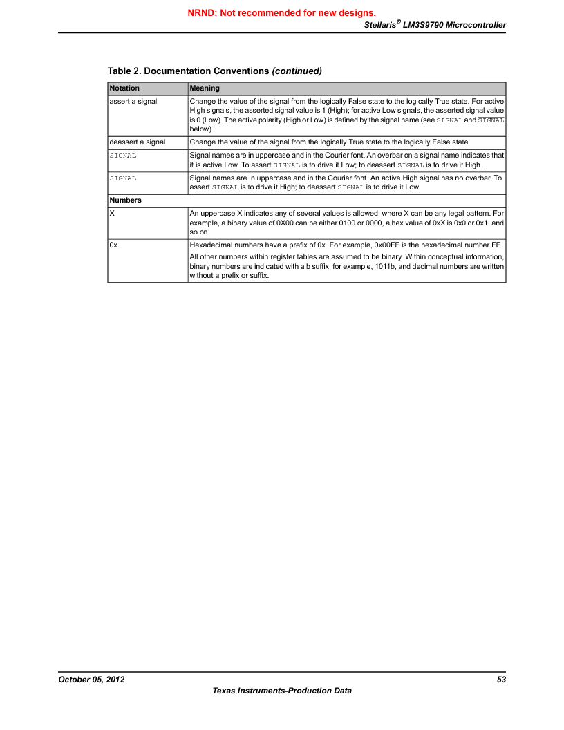LM3S9790-IQC80-C5T ,Texas Instruments厂商,Stellaris LM3S Microcontroller 100-LQFP -40 to 85, LM3S9790-IQC80-C5T datasheet预览  第53页