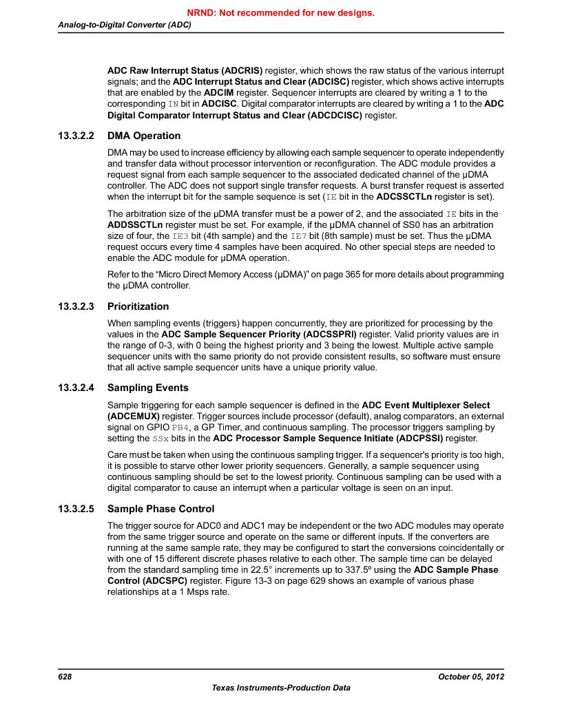 LM3S9790-IQC80-C5T ,Texas Instruments厂商,Stellaris LM3S Microcontroller 100-LQFP -40 to 85, LM3S9790-IQC80-C5T datasheet预览  第628页