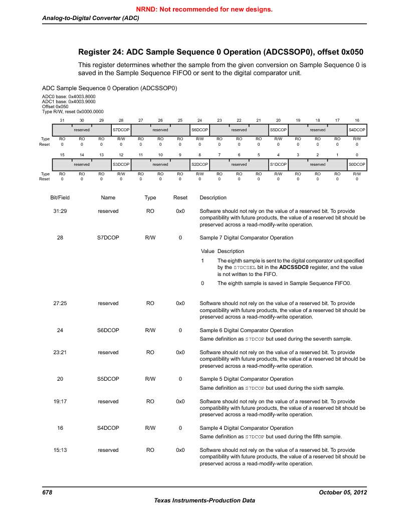 LM3S9790-IQC80-C5T ,Texas Instruments厂商,Stellaris LM3S Microcontroller 100-LQFP -40 to 85, LM3S9790-IQC80-C5T datasheet预览  第678页