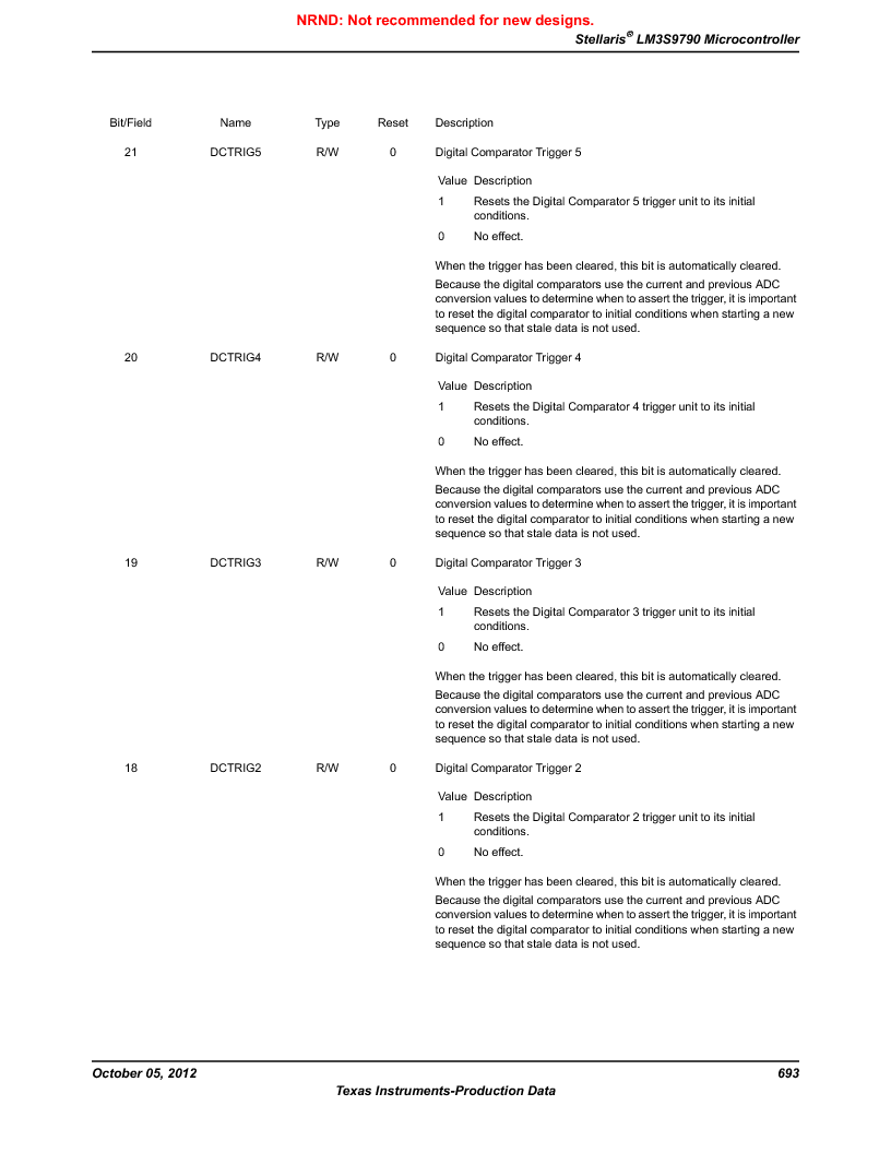 LM3S9790-IQC80-C5T ,Texas Instruments厂商,Stellaris LM3S Microcontroller 100-LQFP -40 to 85, LM3S9790-IQC80-C5T datasheet预览  第693页
