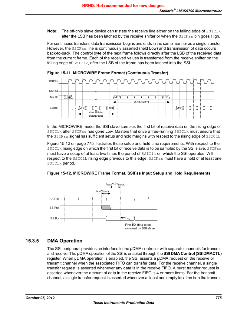 LM3S9790-IQC80-C5T ,Texas Instruments厂商,Stellaris LM3S Microcontroller 100-LQFP -40 to 85, LM3S9790-IQC80-C5T datasheet预览  第775页