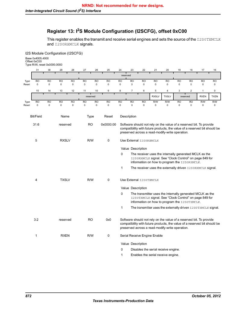 LM3S9790-IQC80-C5T ,Texas Instruments厂商,Stellaris LM3S Microcontroller 100-LQFP -40 to 85, LM3S9790-IQC80-C5T datasheet预览  第872页