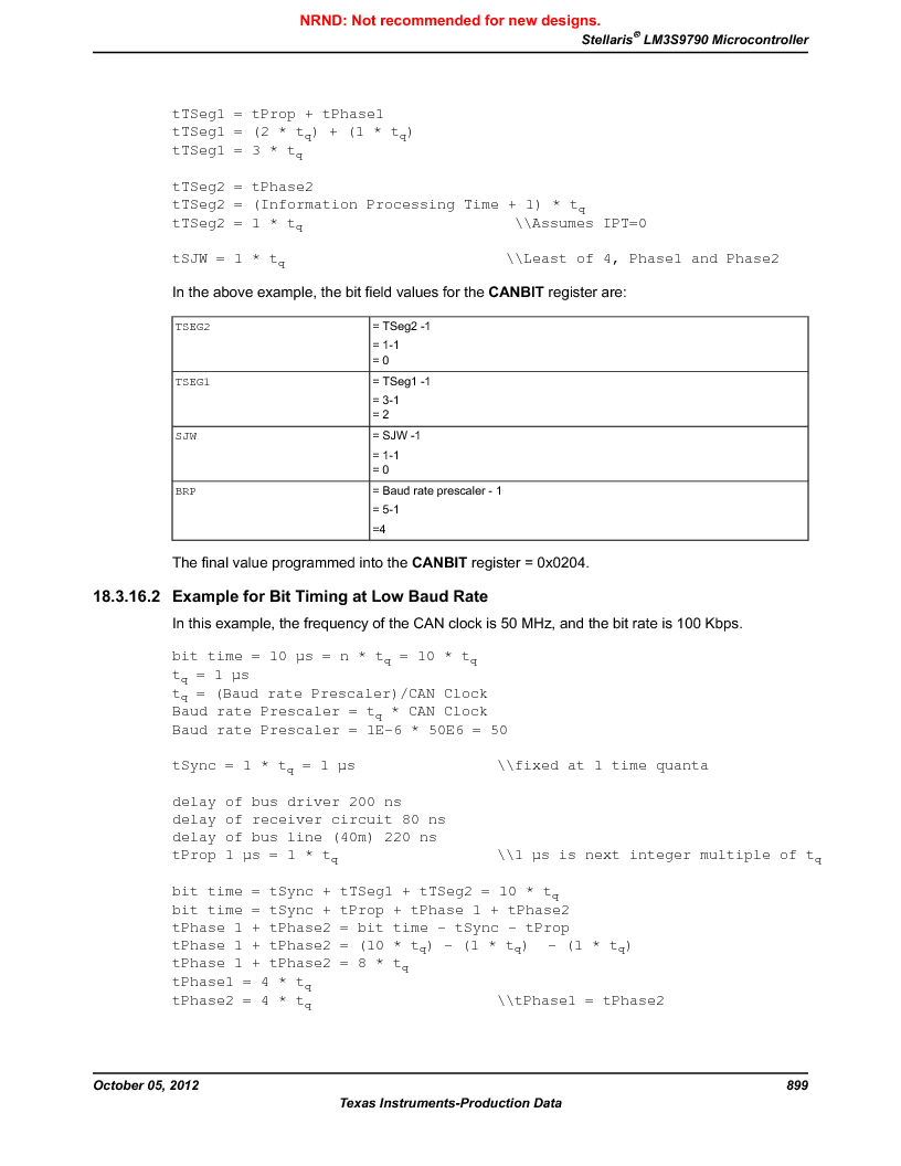 LM3S9790-IQC80-C5T ,Texas Instruments厂商,Stellaris LM3S Microcontroller 100-LQFP -40 to 85, LM3S9790-IQC80-C5T datasheet预览  第899页