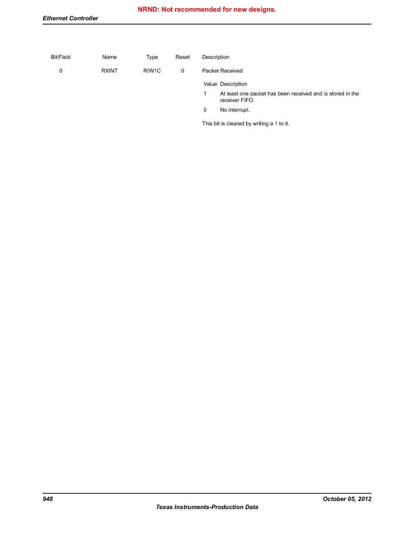 LM3S9790-IQC80-C5T ,Texas Instruments厂商,Stellaris LM3S Microcontroller 100-LQFP -40 to 85, LM3S9790-IQC80-C5T datasheet预览  第948页