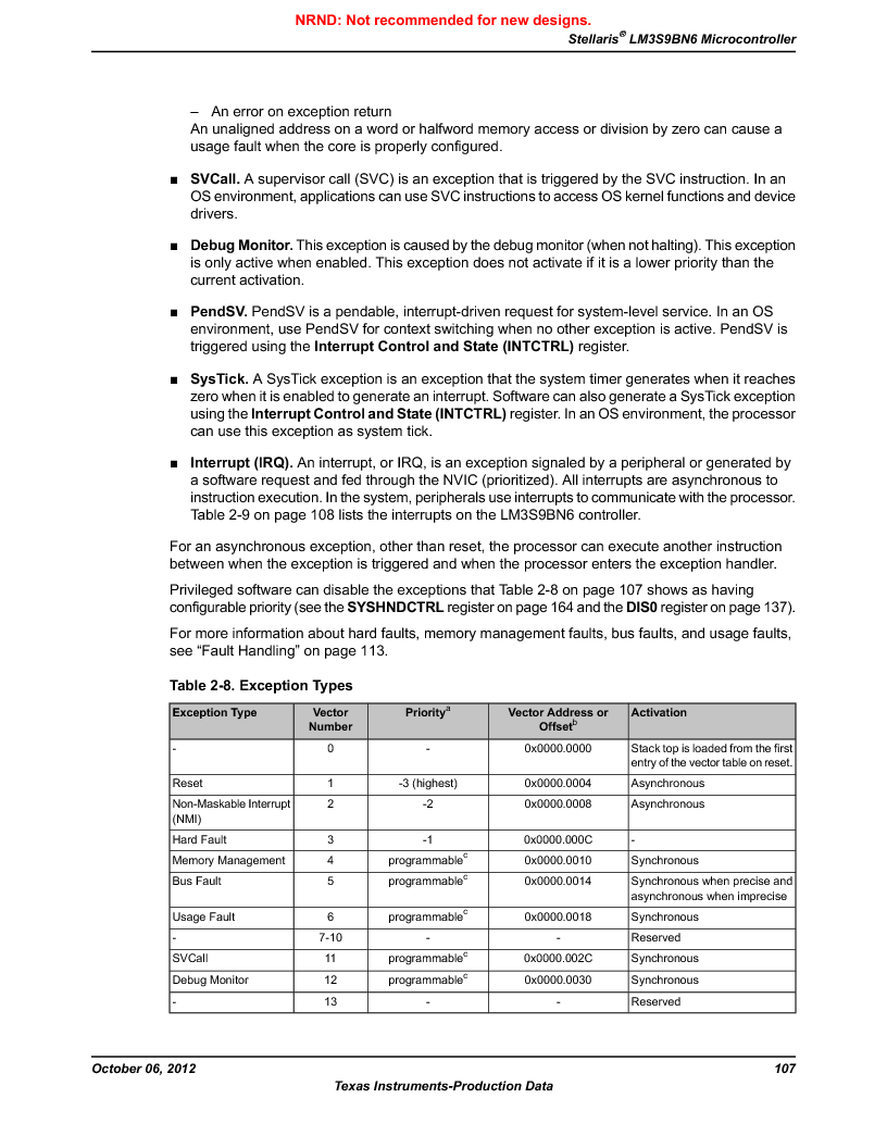 LM3S9BN6-IBZ80-C5 ,Texas Instruments厂商,Stellaris LM3S Microcontroller 108-NFBGA -40 to 85, LM3S9BN6-IBZ80-C5 datasheet预览  第107页