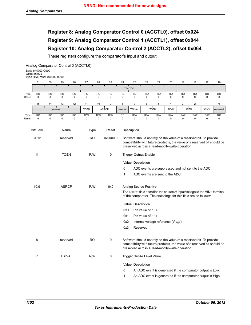LM3S9BN6-IBZ80-C5 ,Texas Instruments厂商,Stellaris LM3S Microcontroller 108-NFBGA -40 to 85, LM3S9BN6-IBZ80-C5 datasheet预览  第1102页