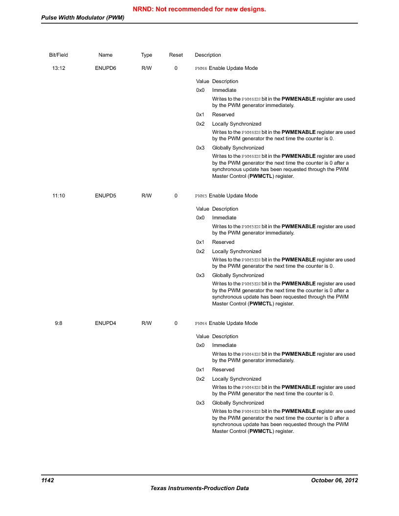 LM3S9BN6-IBZ80-C5 ,Texas Instruments厂商,Stellaris LM3S Microcontroller 108-NFBGA -40 to 85, LM3S9BN6-IBZ80-C5 datasheet预览  第1142页