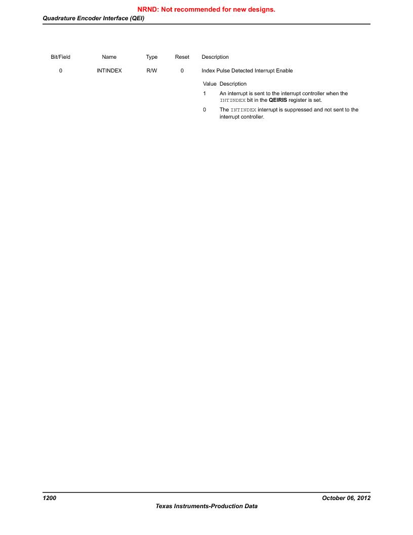 LM3S9BN6-IBZ80-C5 ,Texas Instruments厂商,Stellaris LM3S Microcontroller 108-NFBGA -40 to 85, LM3S9BN6-IBZ80-C5 datasheet预览  第1200页