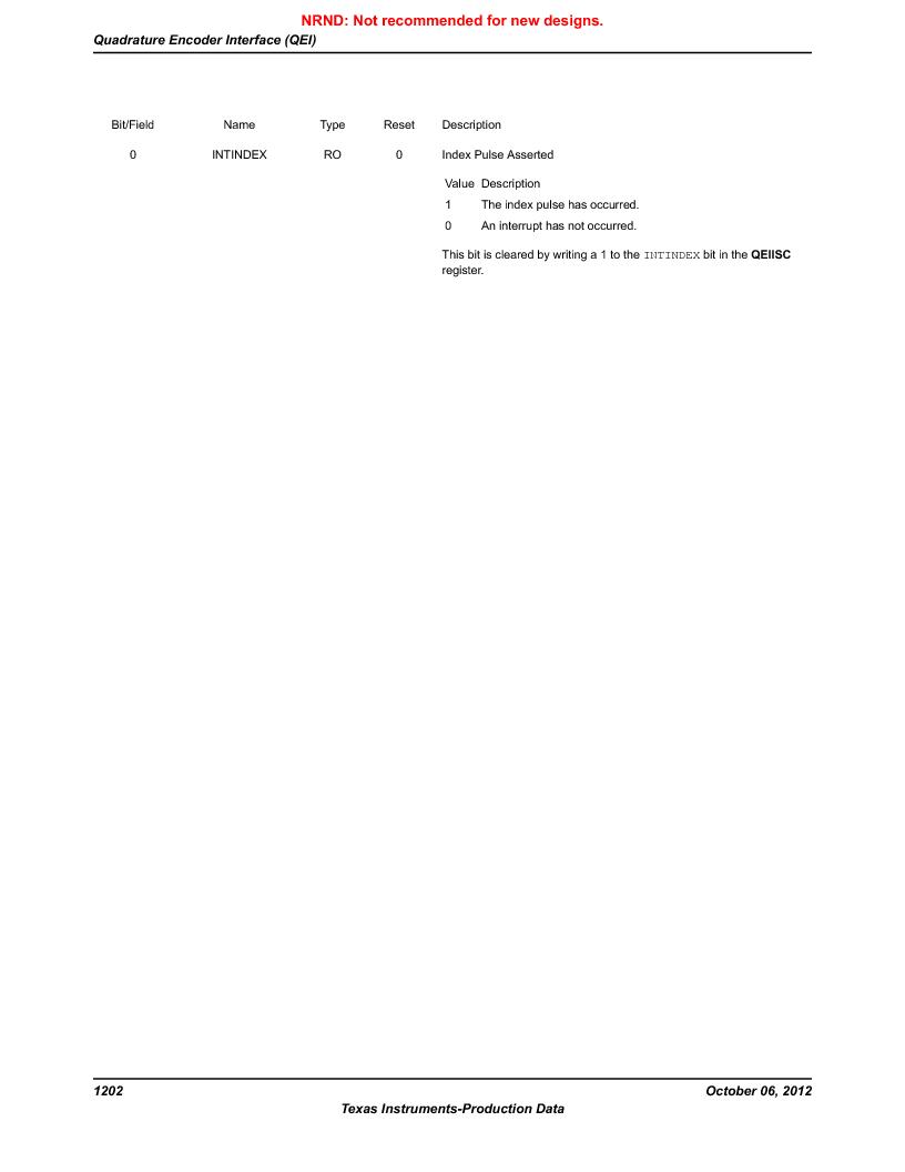LM3S9BN6-IBZ80-C5 ,Texas Instruments厂商,Stellaris LM3S Microcontroller 108-NFBGA -40 to 85, LM3S9BN6-IBZ80-C5 datasheet预览  第1202页