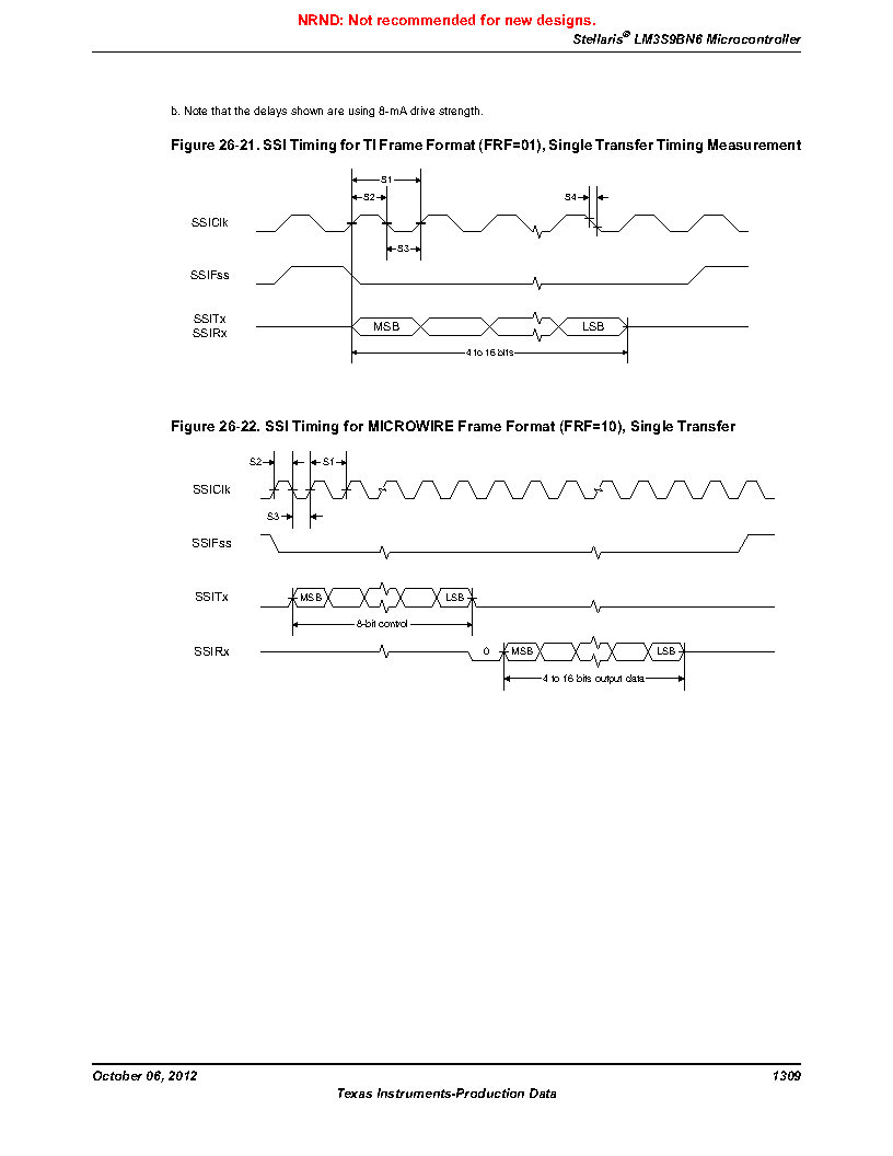 LM3S9BN6-IBZ80-C5 ,Texas Instruments厂商,Stellaris LM3S Microcontroller 108-NFBGA -40 to 85, LM3S9BN6-IBZ80-C5 datasheet预览  第1309页