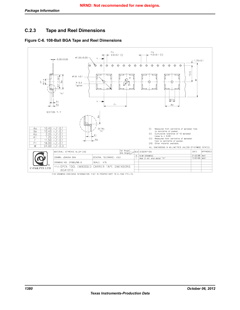 LM3S9BN6-IBZ80-C5 ,Texas Instruments厂商,Stellaris LM3S Microcontroller 108-NFBGA -40 to 85, LM3S9BN6-IBZ80-C5 datasheet预览  第1380页