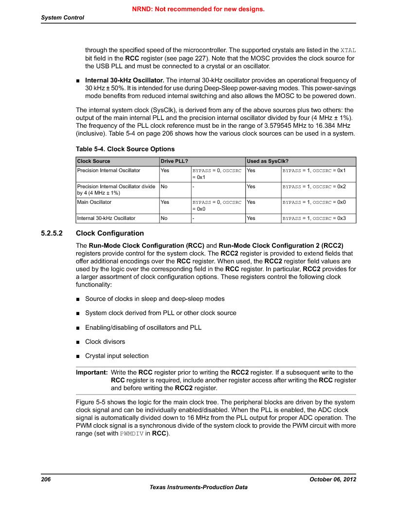 LM3S9BN6-IBZ80-C5 ,Texas Instruments厂商,Stellaris LM3S Microcontroller 108-NFBGA -40 to 85, LM3S9BN6-IBZ80-C5 datasheet预览  第206页