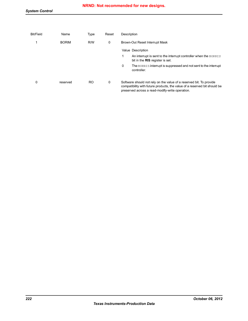 LM3S9BN6-IBZ80-C5 ,Texas Instruments厂商,Stellaris LM3S Microcontroller 108-NFBGA -40 to 85, LM3S9BN6-IBZ80-C5 datasheet预览  第222页