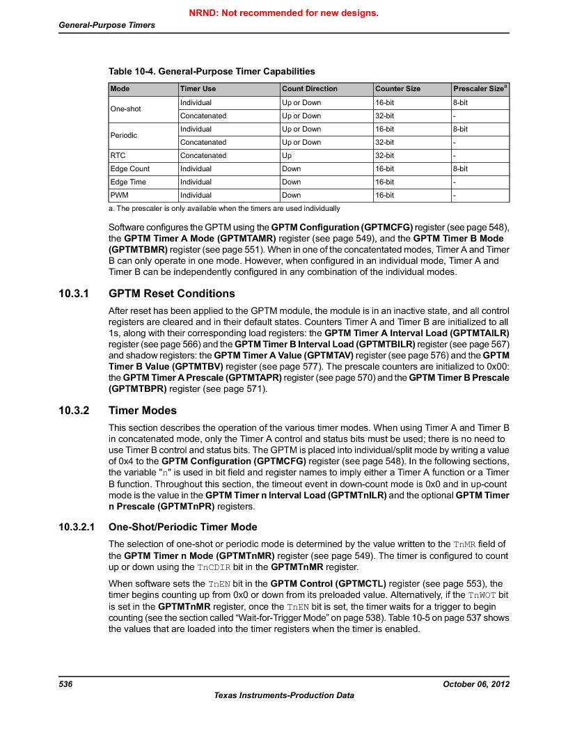 LM3S9BN6-IBZ80-C5 ,Texas Instruments厂商,Stellaris LM3S Microcontroller 108-NFBGA -40 to 85, LM3S9BN6-IBZ80-C5 datasheet预览  第536页