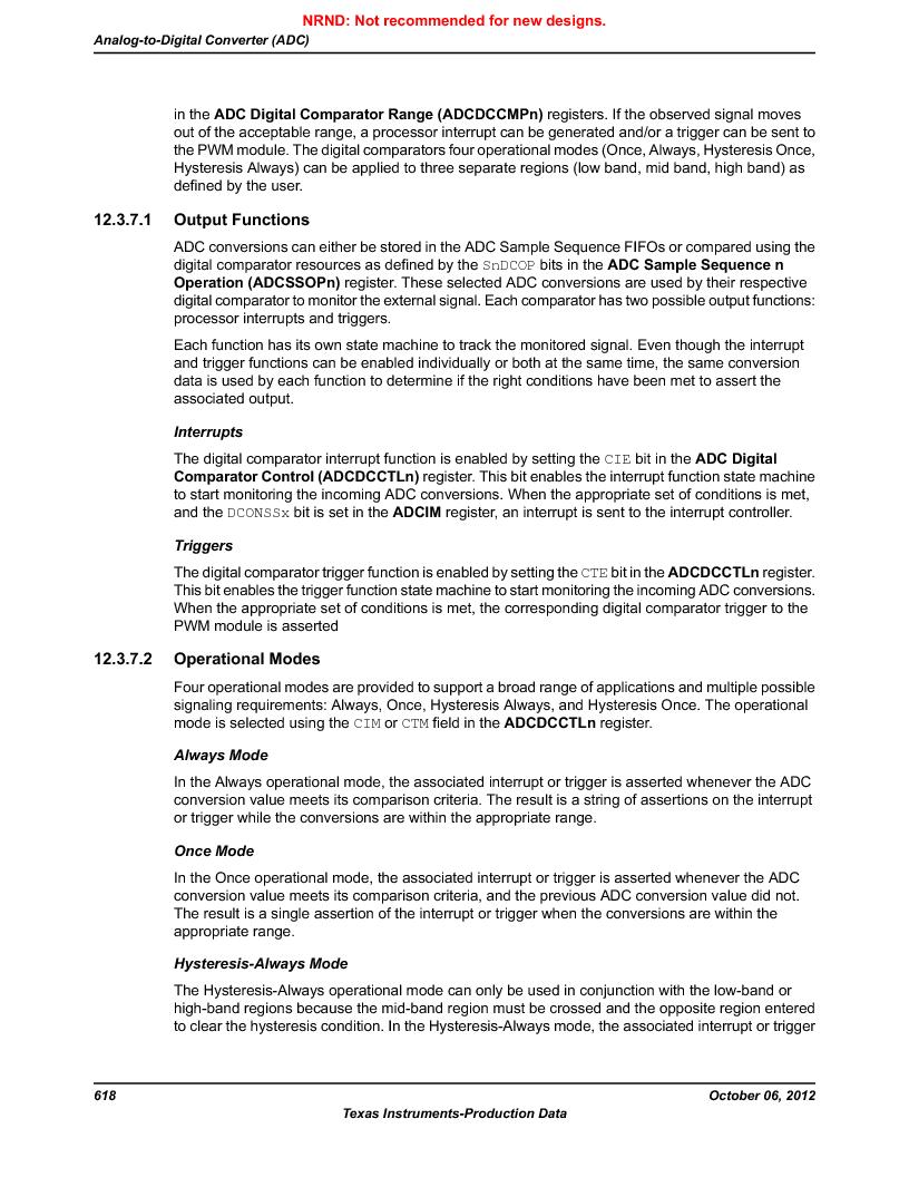 LM3S9BN6-IBZ80-C5 ,Texas Instruments厂商,Stellaris LM3S Microcontroller 108-NFBGA -40 to 85, LM3S9BN6-IBZ80-C5 datasheet预览  第618页