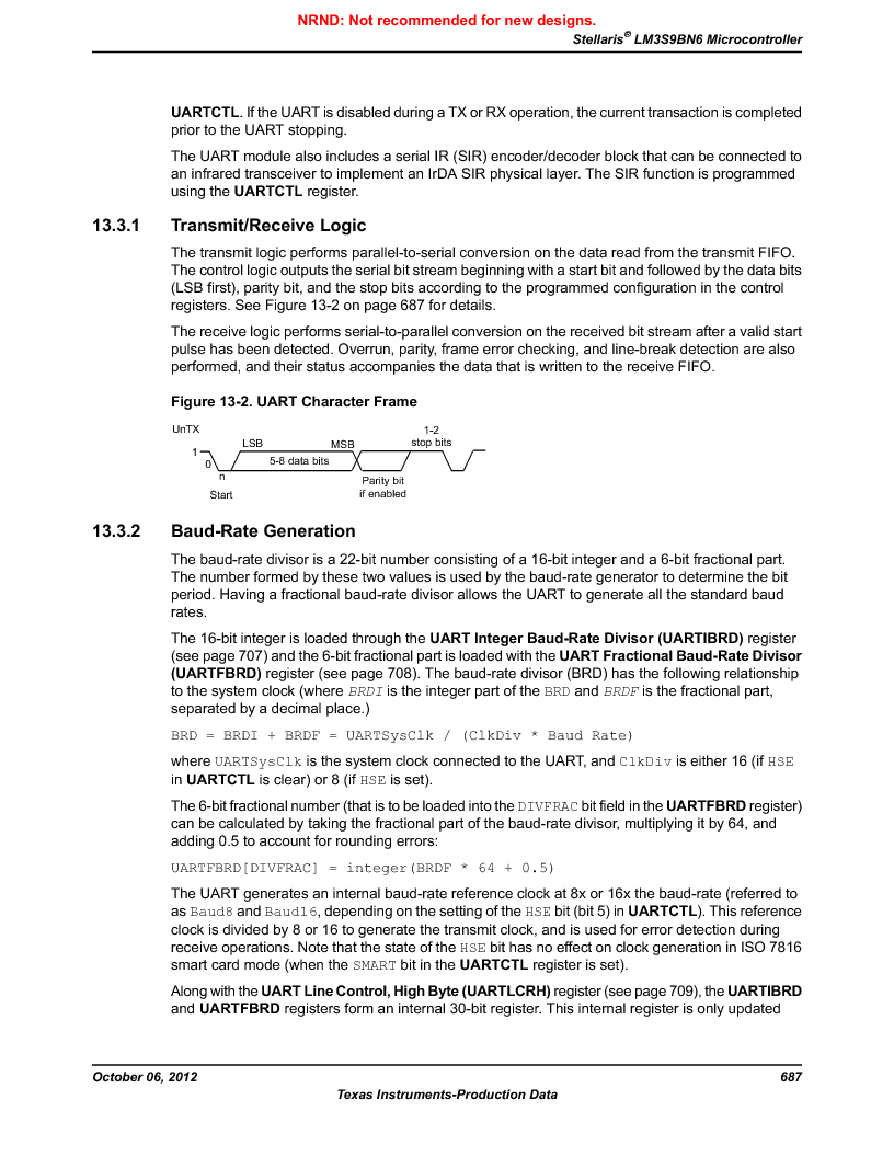 LM3S9BN6-IBZ80-C5 ,Texas Instruments厂商,Stellaris LM3S Microcontroller 108-NFBGA -40 to 85, LM3S9BN6-IBZ80-C5 datasheet预览  第687页