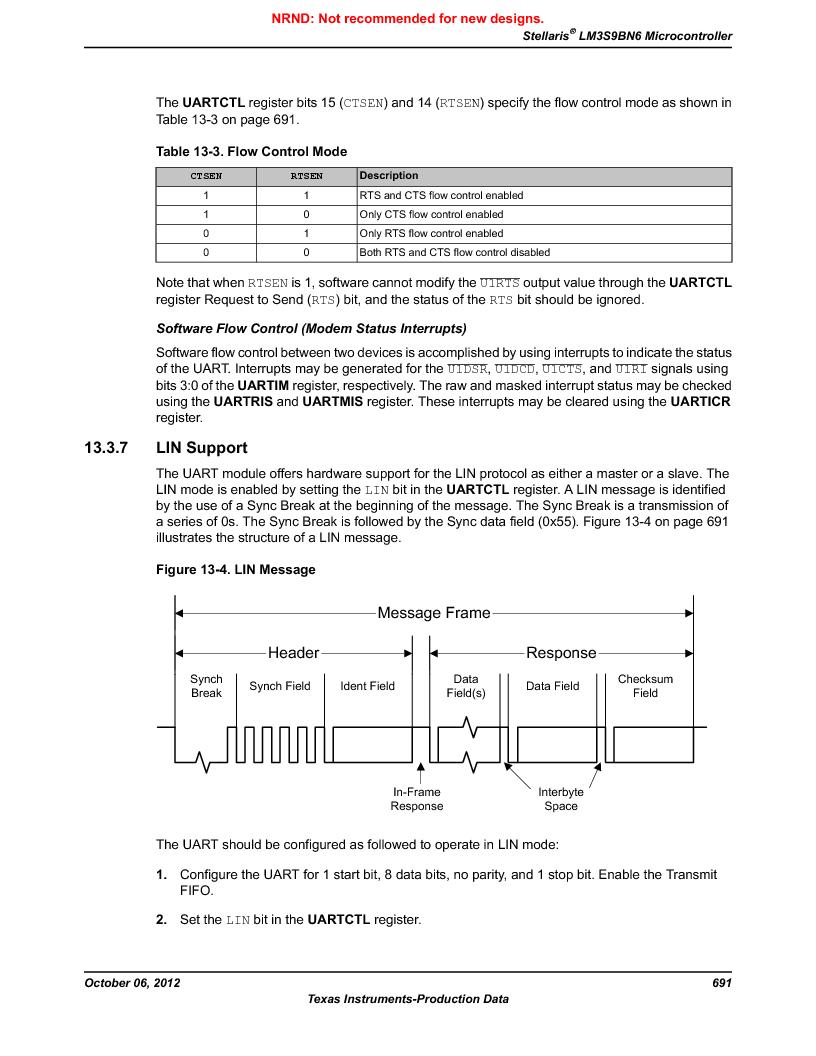 LM3S9BN6-IBZ80-C5 ,Texas Instruments厂商,Stellaris LM3S Microcontroller 108-NFBGA -40 to 85, LM3S9BN6-IBZ80-C5 datasheet预览  第691页