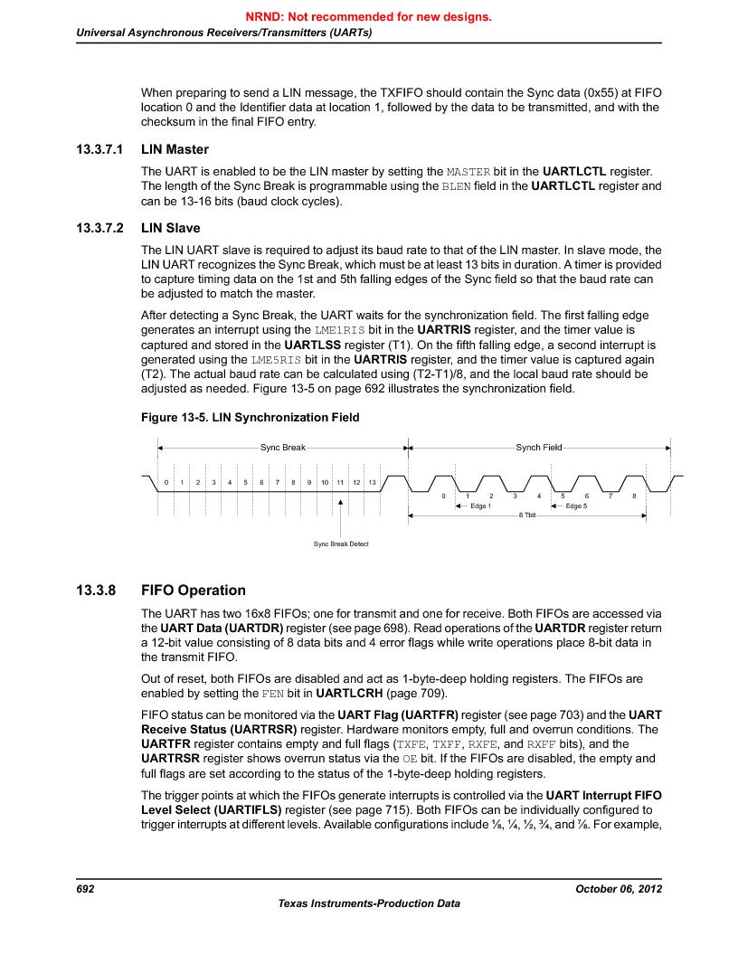 LM3S9BN6-IBZ80-C5 ,Texas Instruments厂商,Stellaris LM3S Microcontroller 108-NFBGA -40 to 85, LM3S9BN6-IBZ80-C5 datasheet预览  第692页