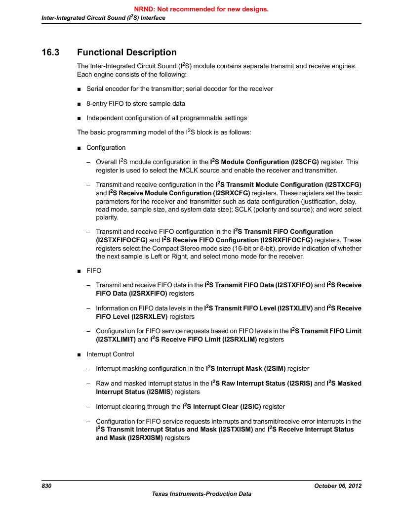 LM3S9BN6-IBZ80-C5 ,Texas Instruments厂商,Stellaris LM3S Microcontroller 108-NFBGA -40 to 85, LM3S9BN6-IBZ80-C5 datasheet预览  第830页