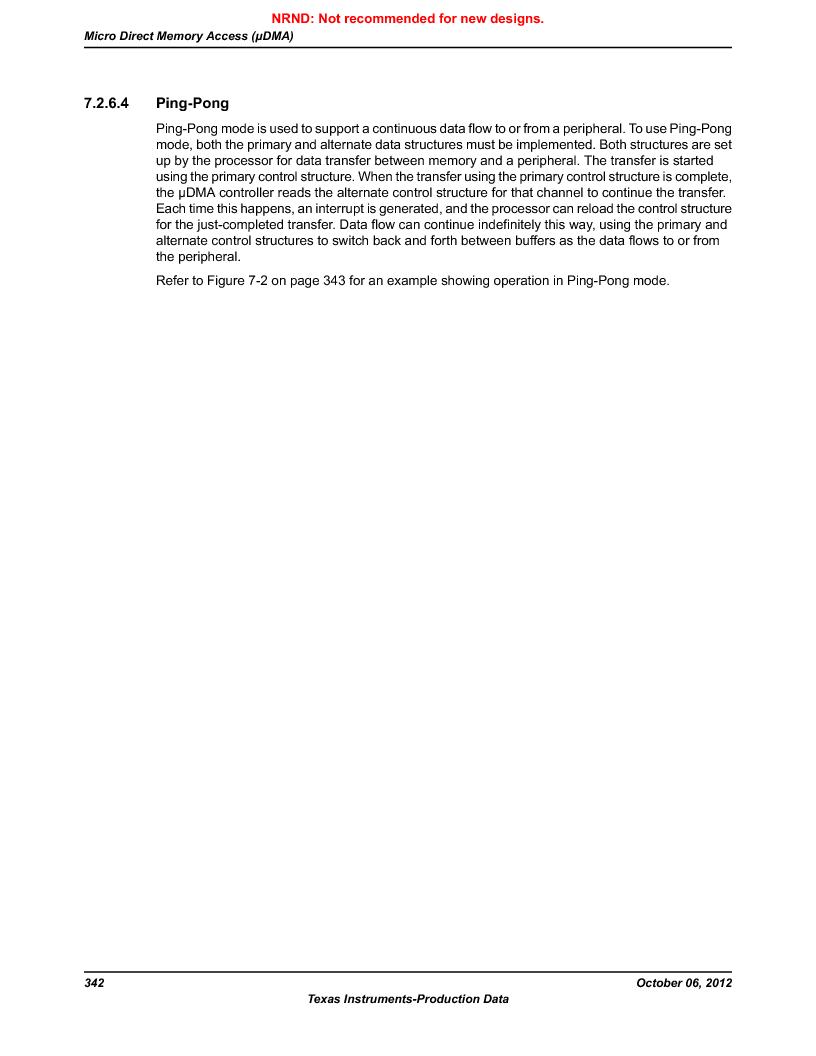 LM3S9D81 ,Texas Instruments厂商,Stellaris LM3S Microcontroller 108-NFBGA -40 to 85, LM3S9D81 datasheet预览  第342页