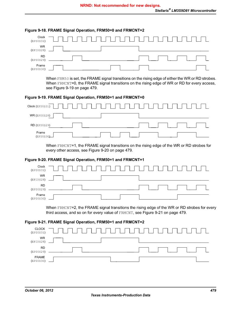 LM3S9D81 ,Texas Instruments厂商,Stellaris LM3S Microcontroller 108-NFBGA -40 to 85, LM3S9D81 datasheet预览  第479页