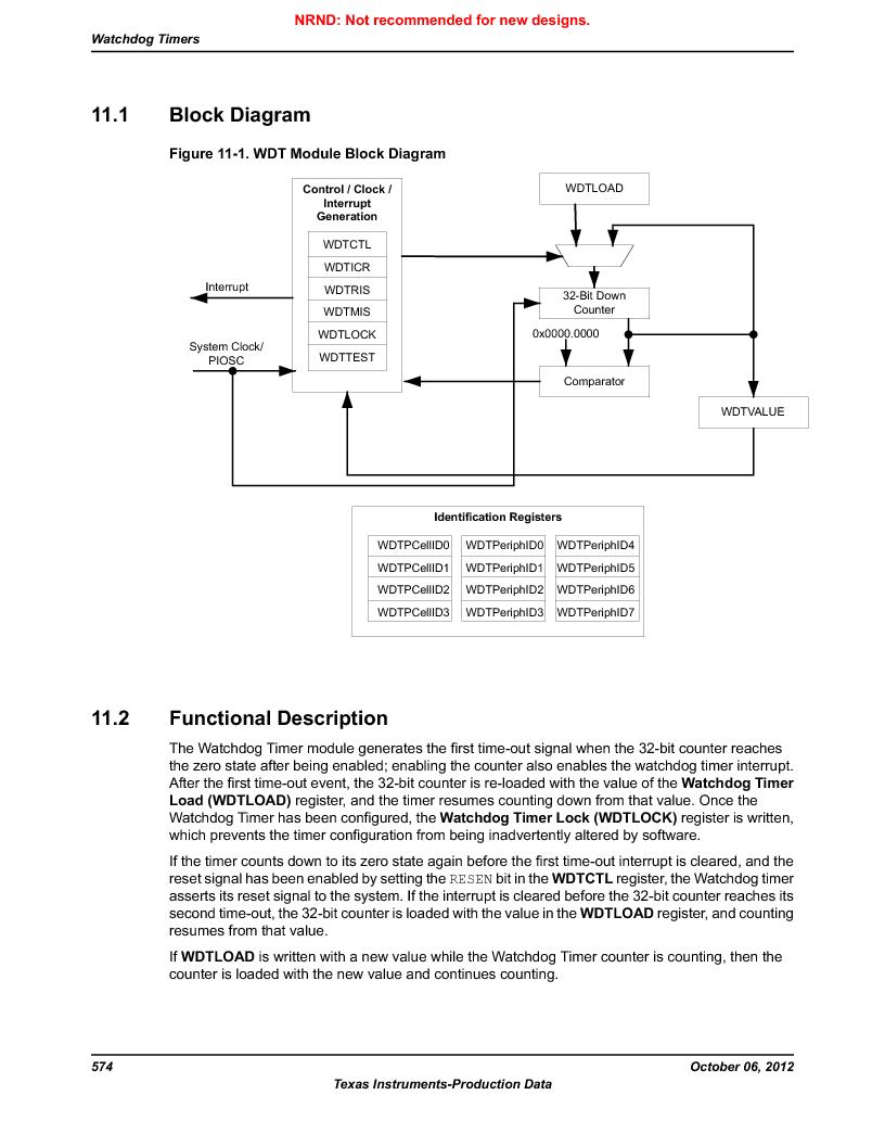 LM3S9D81 ,Texas Instruments厂商,Stellaris LM3S Microcontroller 108-NFBGA -40 to 85, LM3S9D81 datasheet预览  第574页