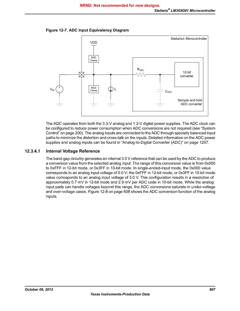 LM3S9D81 ,Texas Instruments厂商,Stellaris LM3S Microcontroller 108-NFBGA -40 to 85, LM3S9D81 datasheet预览  第607页