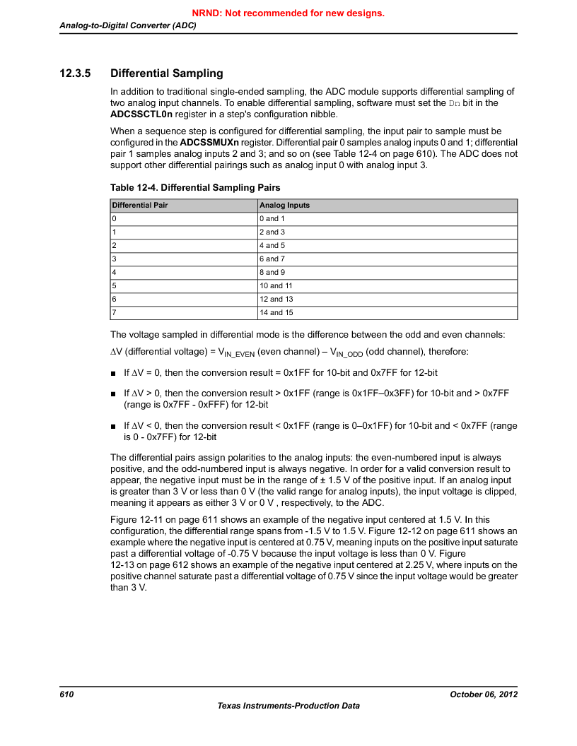 LM3S9D81 ,Texas Instruments厂商,Stellaris LM3S Microcontroller 108-NFBGA -40 to 85, LM3S9D81 datasheet预览  第610页