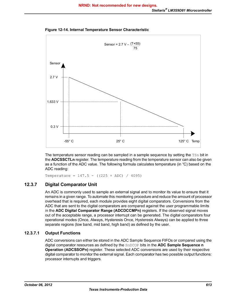 LM3S9D81 ,Texas Instruments厂商,Stellaris LM3S Microcontroller 108-NFBGA -40 to 85, LM3S9D81 datasheet预览  第613页