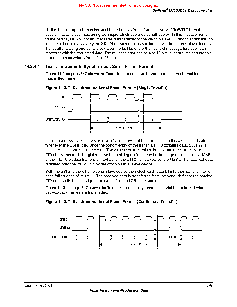 LM3S9D81 ,Texas Instruments厂商,Stellaris LM3S Microcontroller 108-NFBGA -40 to 85, LM3S9D81 datasheet预览  第747页
