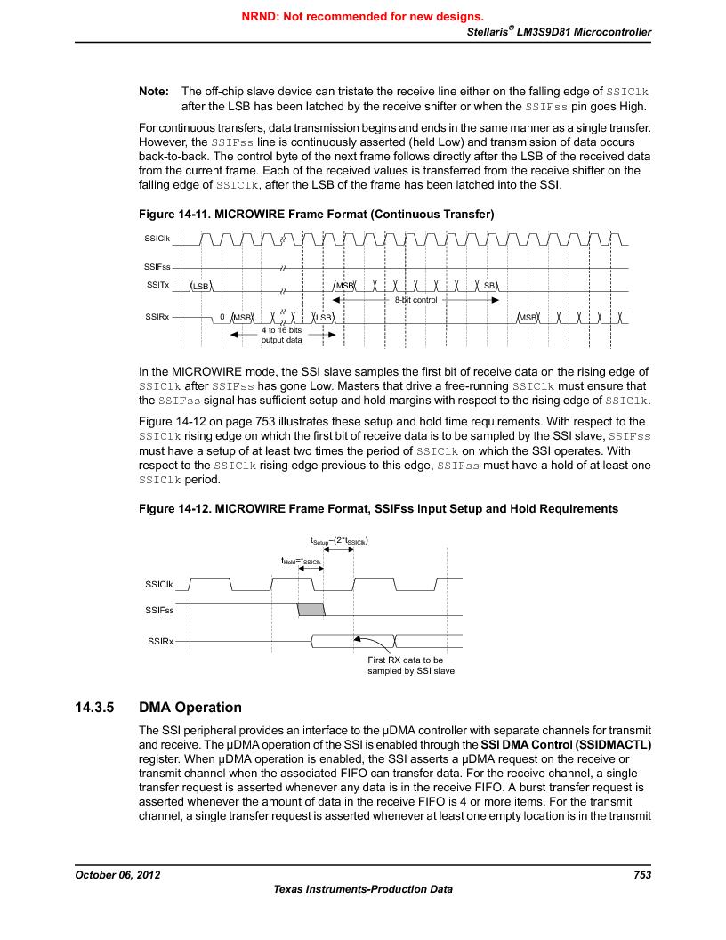 LM3S9D81 ,Texas Instruments厂商,Stellaris LM3S Microcontroller 108-NFBGA -40 to 85, LM3S9D81 datasheet预览  第753页