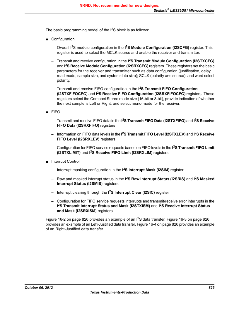 LM3S9D81 ,Texas Instruments厂商,Stellaris LM3S Microcontroller 108-NFBGA -40 to 85, LM3S9D81 datasheet预览  第825页