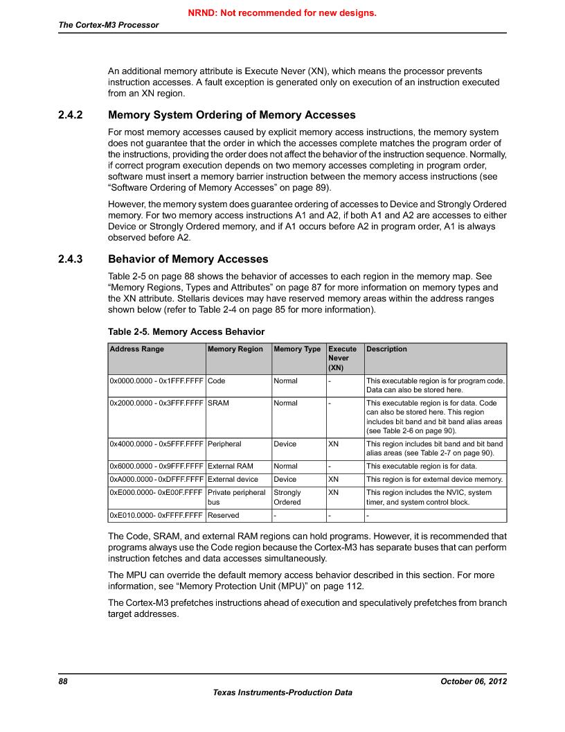 LM3S9D81 ,Texas Instruments厂商,Stellaris LM3S Microcontroller 108-NFBGA -40 to 85, LM3S9D81 datasheet预览  第88页