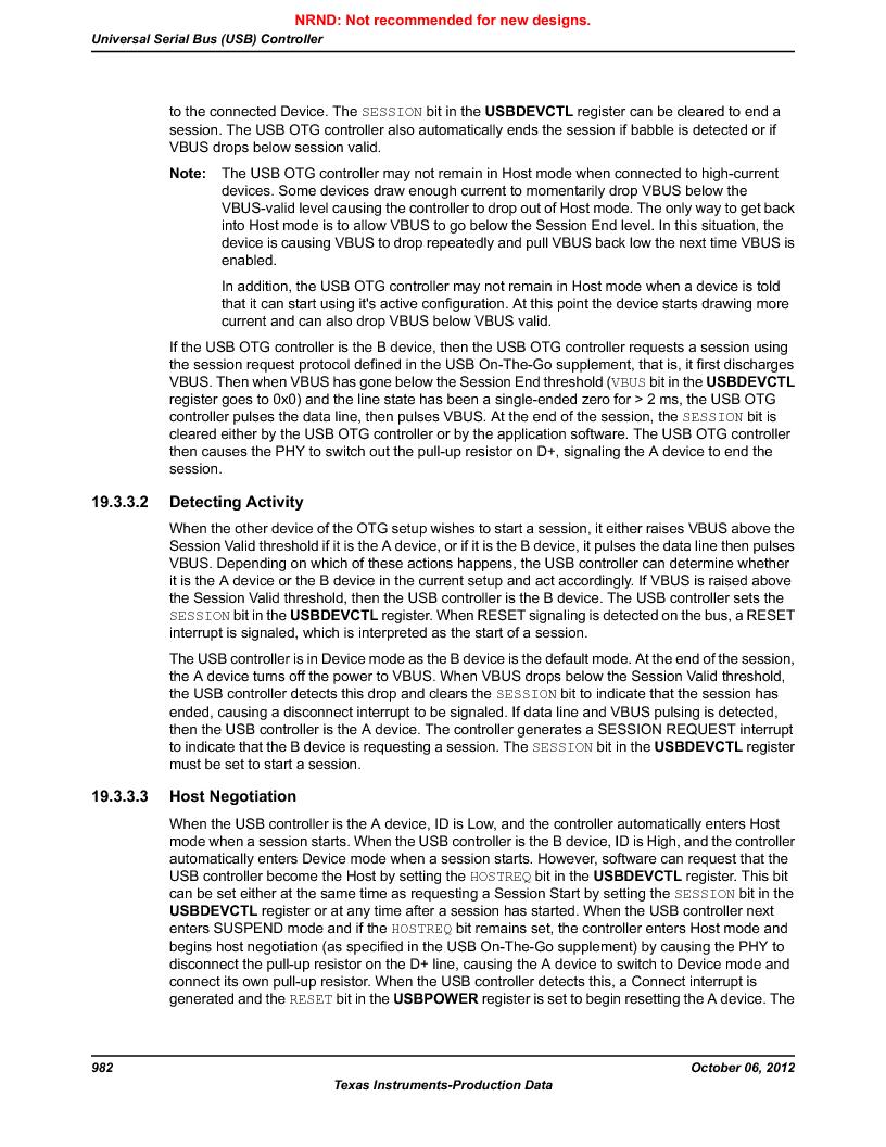 LM3S9D81 ,Texas Instruments厂商,Stellaris LM3S Microcontroller 108-NFBGA -40 to 85, LM3S9D81 datasheet预览  第982页