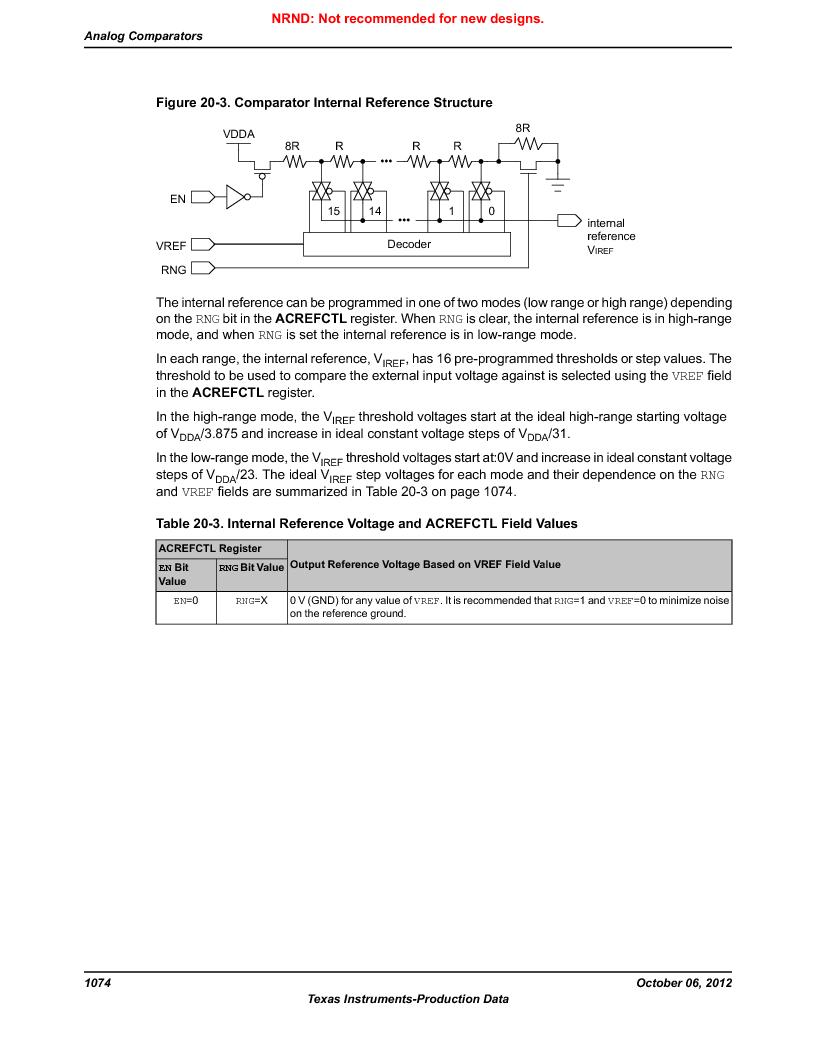 LM3S9G97 ,Texas Instruments厂商,Stellaris LM3S Microcontroller 108-NFBGA -40 to 85, LM3S9G97 datasheet预览  第1074页