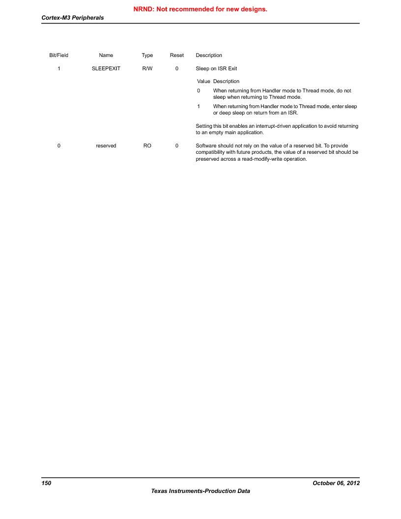 LM3S9G97 ,Texas Instruments厂商,Stellaris LM3S Microcontroller 108-NFBGA -40 to 85, LM3S9G97 datasheet预览  第150页