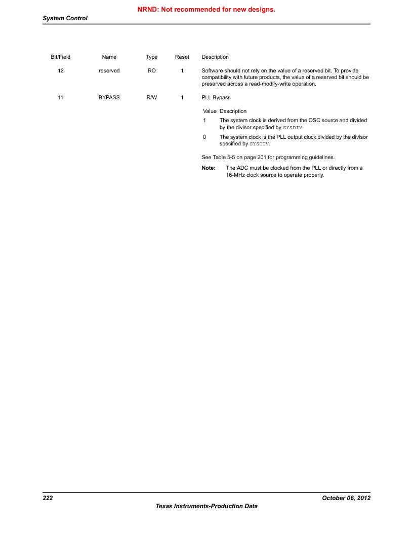 LM3S9G97 ,Texas Instruments厂商,Stellaris LM3S Microcontroller 108-NFBGA -40 to 85, LM3S9G97 datasheet预览  第222页