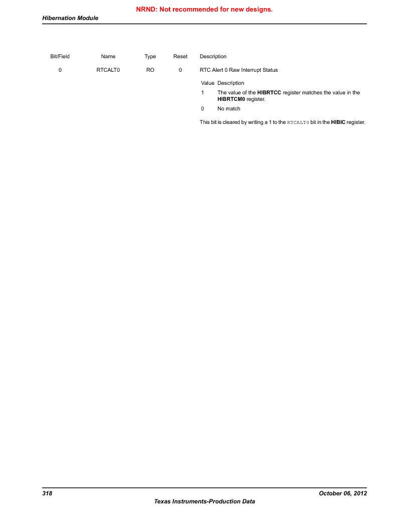 LM3S9G97 ,Texas Instruments厂商,Stellaris LM3S Microcontroller 108-NFBGA -40 to 85, LM3S9G97 datasheet预览  第318页