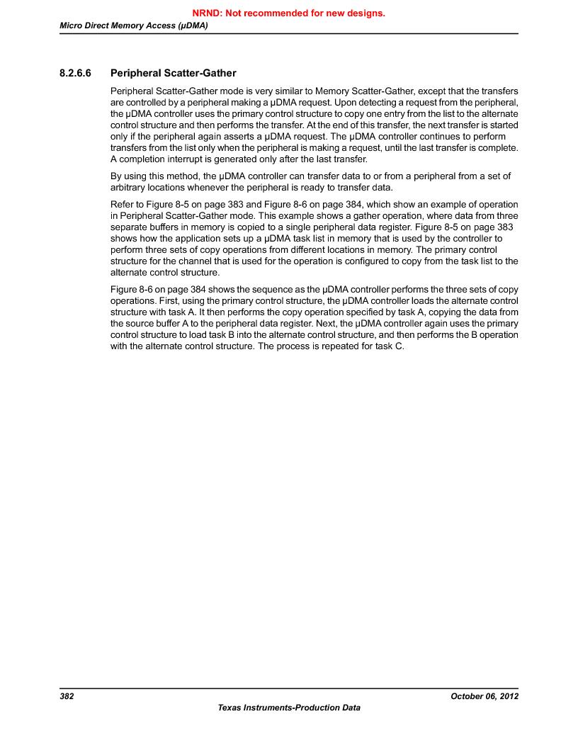 LM3S9G97 ,Texas Instruments厂商,Stellaris LM3S Microcontroller 108-NFBGA -40 to 85, LM3S9G97 datasheet预览  第382页