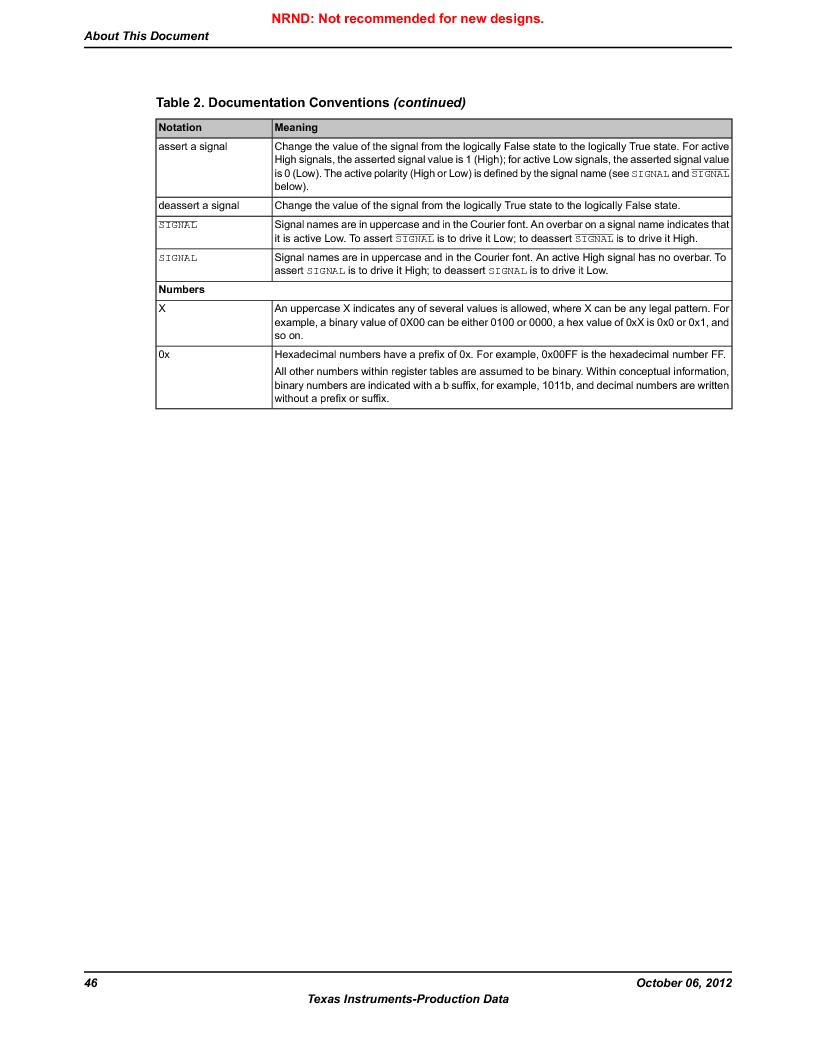 LM3S9G97 ,Texas Instruments厂商,Stellaris LM3S Microcontroller 108-NFBGA -40 to 85, LM3S9G97 datasheet预览  第46页