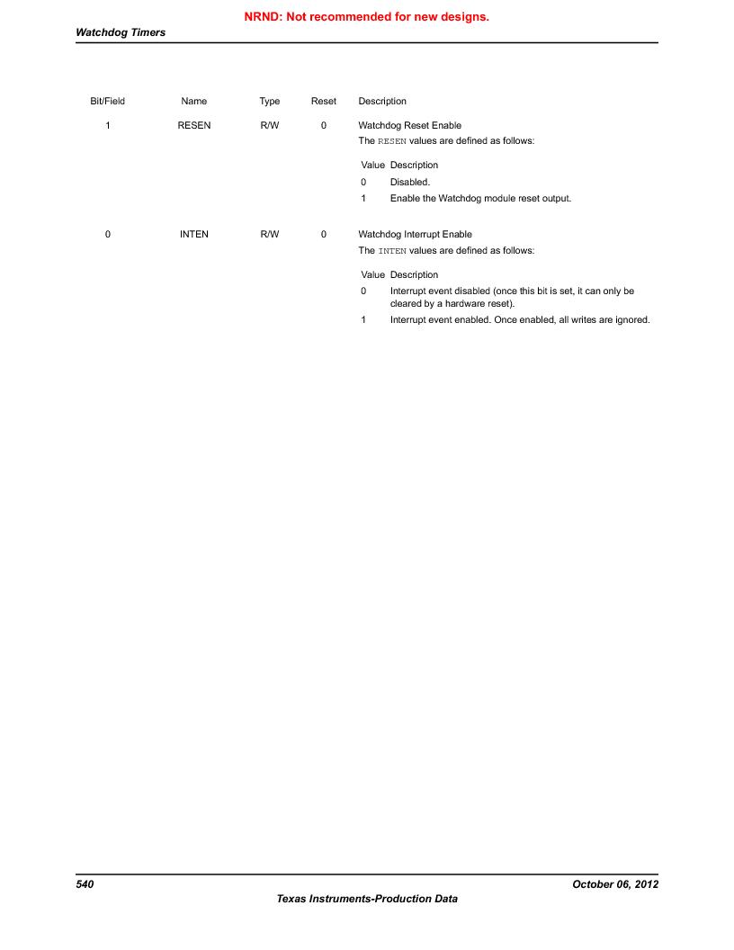 LM3S9G97 ,Texas Instruments厂商,Stellaris LM3S Microcontroller 108-NFBGA -40 to 85, LM3S9G97 datasheet预览  第540页