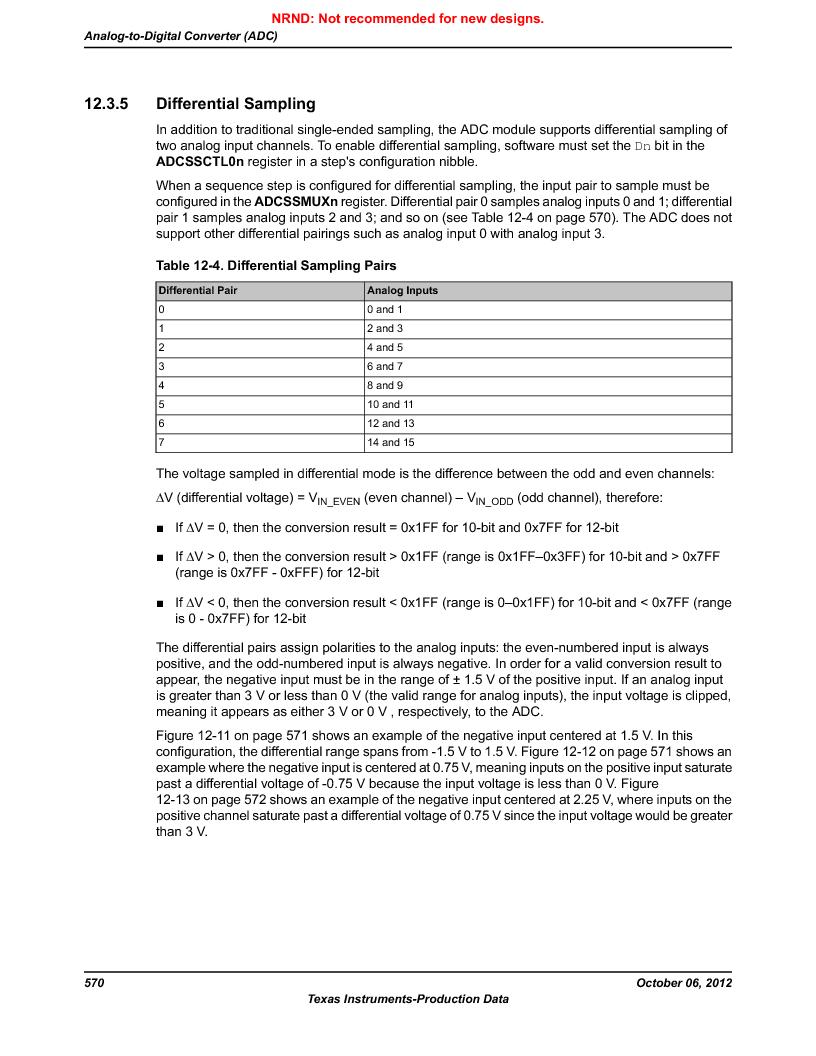 LM3S9G97 ,Texas Instruments厂商,Stellaris LM3S Microcontroller 108-NFBGA -40 to 85, LM3S9G97 datasheet预览  第570页