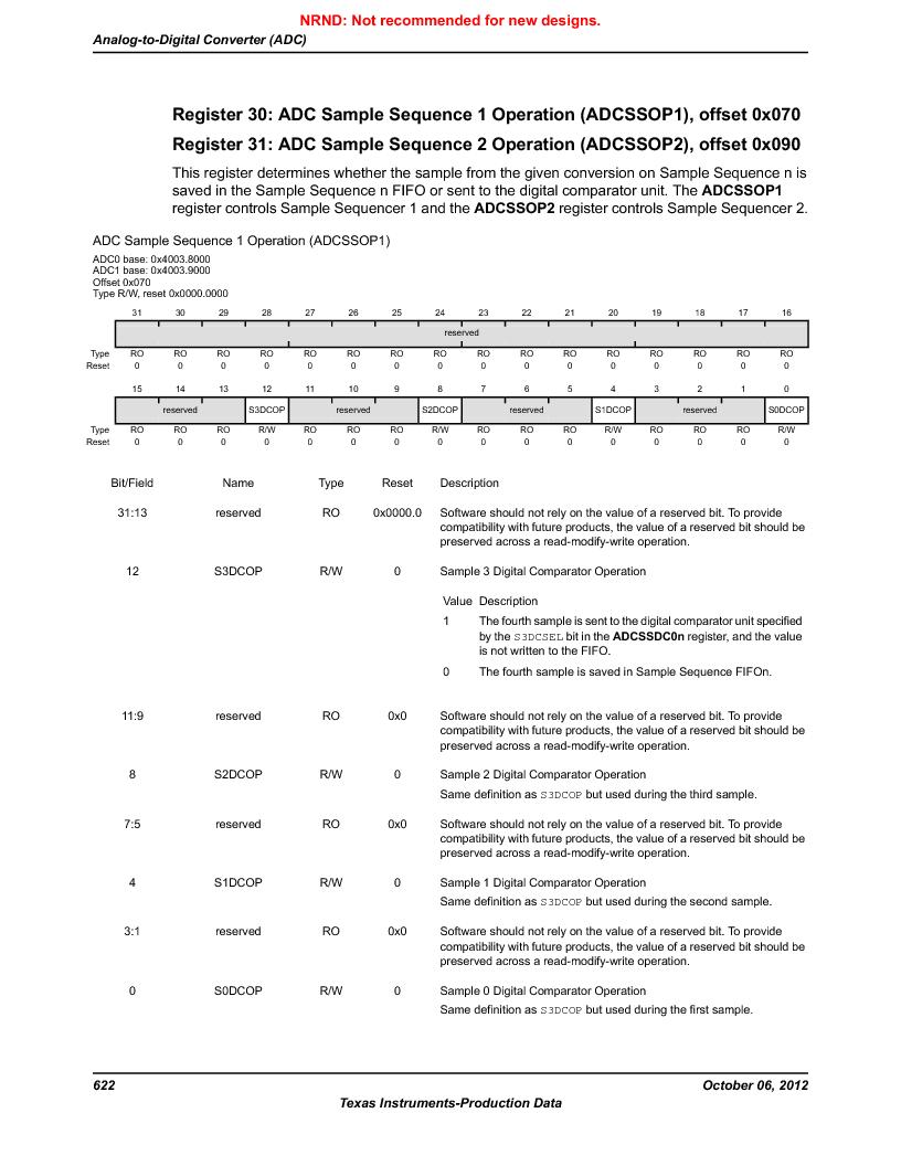 LM3S9G97 ,Texas Instruments厂商,Stellaris LM3S Microcontroller 108-NFBGA -40 to 85, LM3S9G97 datasheet预览  第622页