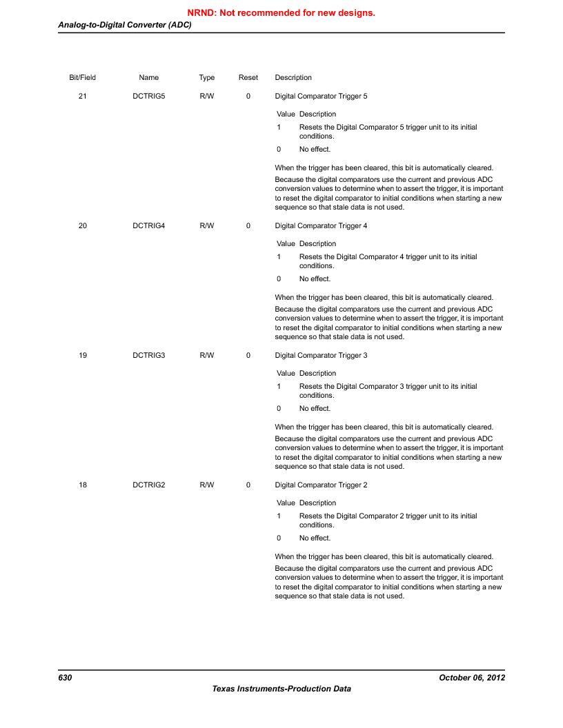 LM3S9G97 ,Texas Instruments厂商,Stellaris LM3S Microcontroller 108-NFBGA -40 to 85, LM3S9G97 datasheet预览  第630页