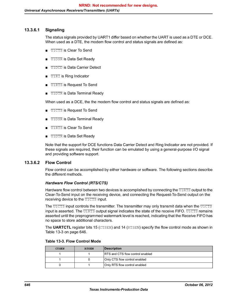 LM3S9G97 ,Texas Instruments厂商,Stellaris LM3S Microcontroller 108-NFBGA -40 to 85, LM3S9G97 datasheet预览  第646页