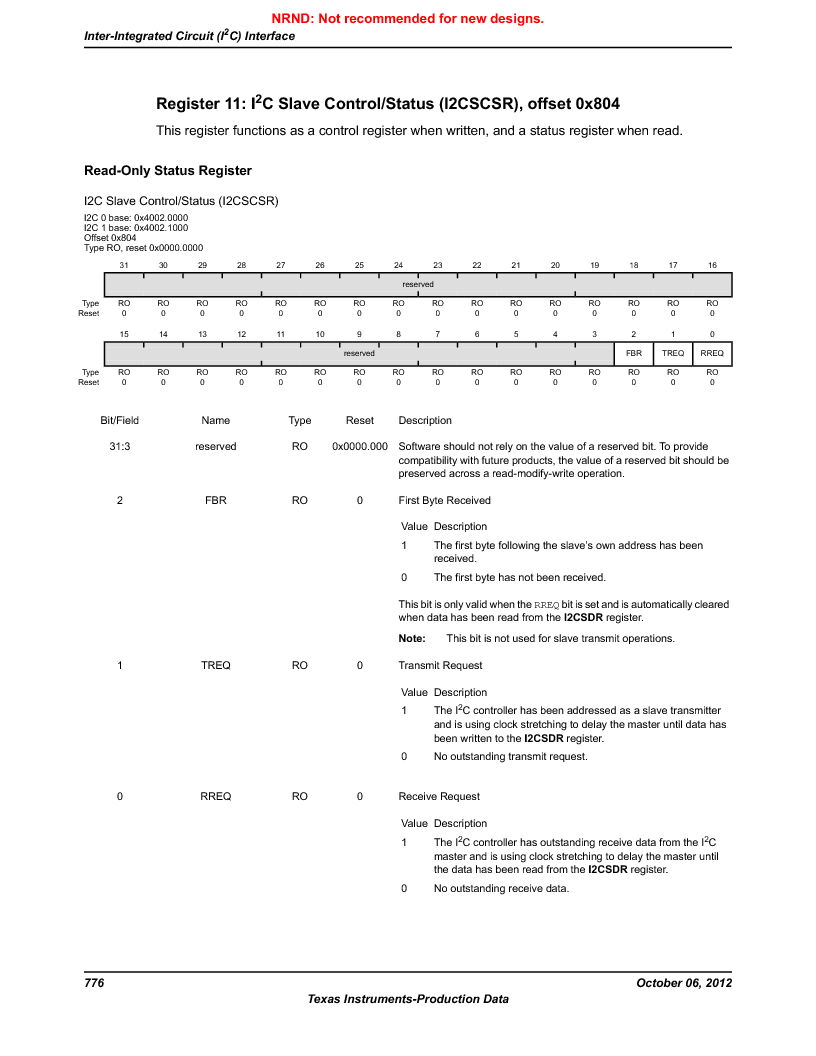 LM3S9G97 ,Texas Instruments厂商,Stellaris LM3S Microcontroller 108-NFBGA -40 to 85, LM3S9G97 datasheet预览  第776页